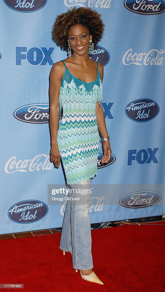 Nadia Turner during 'American Idol' Season 4 - Top 12 Finalists Party at Astra West in West Hollywood, California, United States.