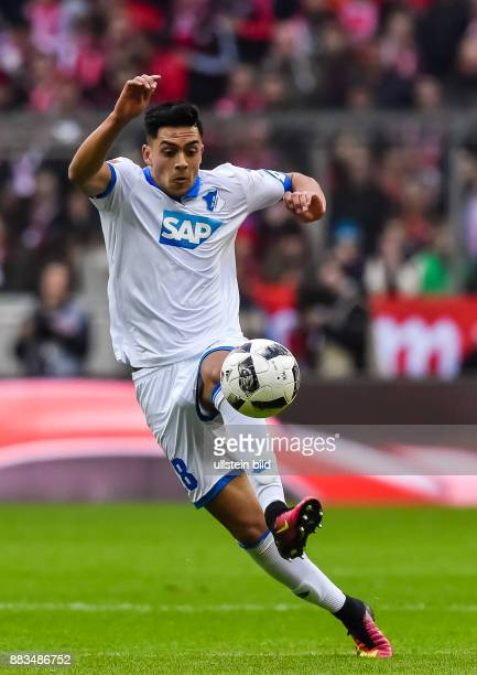 Nadiem Amiri in Aktion waehrend dem Fussball Bundesliga Spiel FC Bayern Muenchen gegen TSG Hoffenheim am 1 Spieltag der Saison 2016/2017 in der...