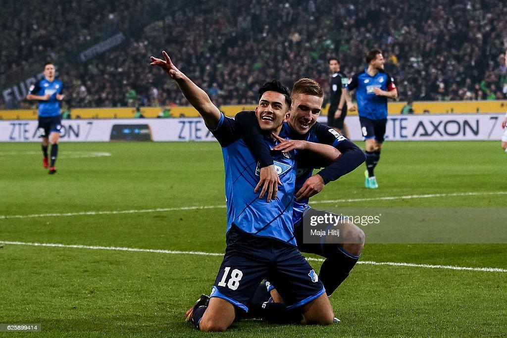 Borussia Moenchengladbach v TSG 1899 Hoffenheim - Bundesliga : News Photo