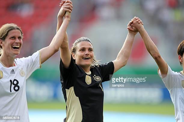 Nadine Angerer Frauenfussball Länderspiel Deutschland Nordkorea Korea DVR 20 am 21 5 2011