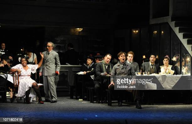 Nadine Benjamin as Musetta Simon Butteriss as Alcindoro Bozidar Smiljanic as Schaunard Nicholas Lester as Marcello David Soar as Colline Jonathan...