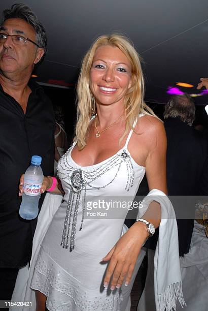 Nadine Bronx and A Guest during Denise Rich's Annual Summer Party Inside in St Tropez France