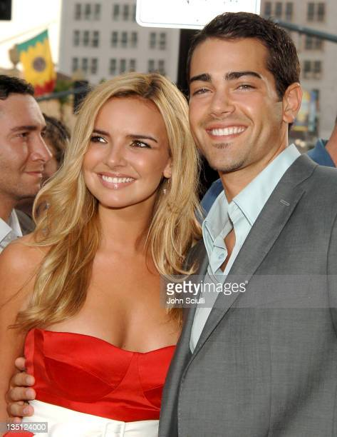 Nadine Coyle and Jesse Metcalfe during John Tucker Must Die Los Angeles Premiere Arrivals at Mann's Chinese Theater in Hollywood California United...
