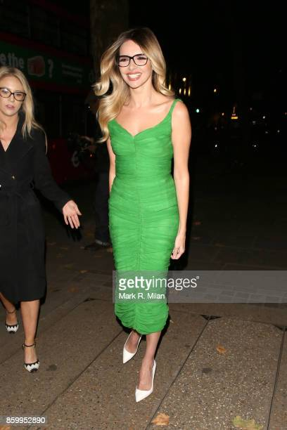 Nadine Coyle attending the Specsavers 'Spectacle Wearer of the Year' awards on October 10 2017 in London England