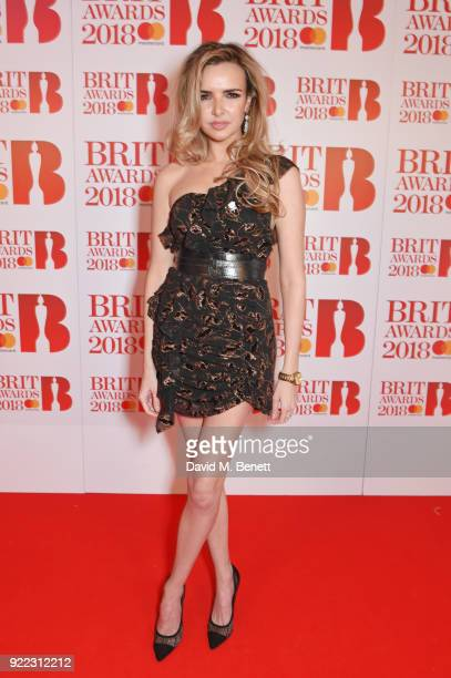 AWARDS 2018 *** Nadine Coyle attends The BRIT Awards 2018 held at The O2 Arena on February 21 2018 in London England