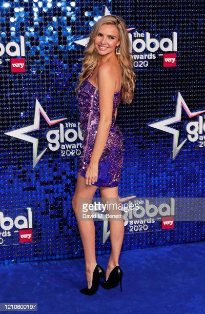 Nadine Coyle attends The Global Awards 2020 at the Eventim Apollo, Hammersmith, on March 05, 2020 in London, England.