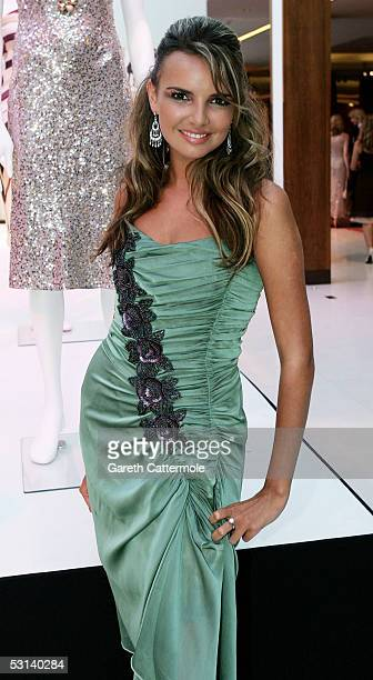 Nadine Coyle attends the My Favourite Dress Ball hosted by Zandra Rhodes and other big names in British fashion at The Hurlingham Club on June 23...