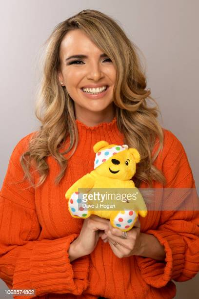 Nadine Coyle backstage at BBC Children In Need's 2018 appeal night at Elstree Studios on November 16, 2018 in Borehamwood, England.