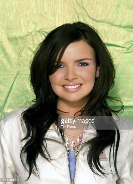 Nadine Coyle of girl group Girls Aloud London 16th December 2004