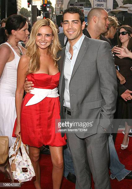 Nadine Coyle of Girls Aloud and Jesse Metcalfe during John Tucker Must Die Los Angeles Premiere Arrivals at Mann's Grauman Chinese Theater in...