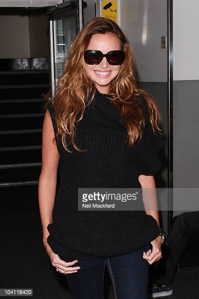 Nadine Coyle sighted at BBC Radio One on September 15 2010 in London England