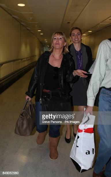 Nadine Dorries arrives back in Britain today to face the music after her appearance on Im A Celebrity Get Me Out of Here