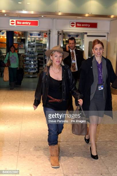 Nadine Dorries arrives back in Britain today to face the music after her appearance on IOtildem A Celebrity Get Me Out of Here