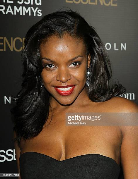 Nadine Ellis arrives at the ESSENCE 2nd Annual Black Women in music reception honoring Janelle Monae held at Playhouse Hollywood on February 9 2011...