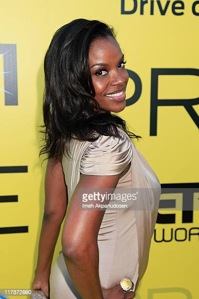 Nadine Ellis attends BET network's 5th annual preBET awards celebration dinner at Book Bindery on June 25 2011 in Los Angeles California