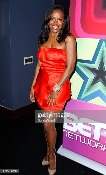 Nadine Ellis attends the 2011 BET Networks Upfront at the Best Buy Theater on April 20 2011 in New York City
