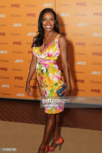 Nadine Ellis attends the BET Networks CEO Debra L Lee Hosts 6th Annual BET PreExclusive Dinner Celebration at Union Station on June 30 2012 in Los...