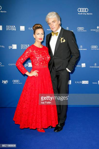 Nadine Heidenreich and Walter Sittler during the 6th German Actor Award Ceremony at Zoo Palast on September 22, 2017 in Berlin, Germany.