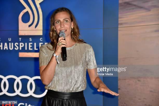 Nadine Heidenreich attends the Audi 'Deutscher Schauspielerpreis' WarmUpBrunch at Audi City Berlin on September 9 2017 in Berlin Germany