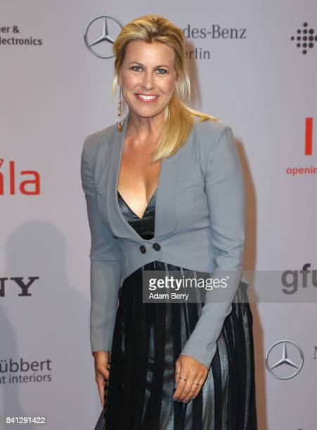 Nadine Krueger arrives for the IFA 2017 opening gala on August 31, 2017 in Berlin, Germany.