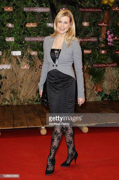 Nadine Krueger attends the 'Das Dschungelkind' Premiere at CineStar on February 7 2011 in Berlin Germany