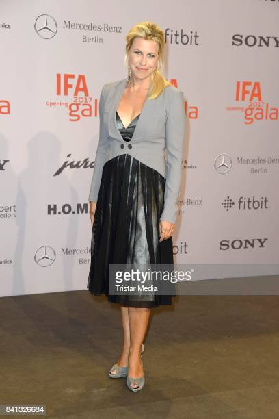 Nadine Krueger attends the IFA 2017 opening gala on August 31 2017 in Berlin Germany
