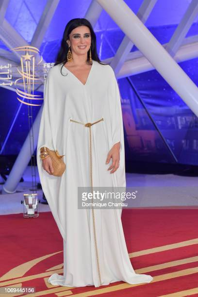 Nadine Labaki attends the Capernaum premiere during the 17th Marrakech International Film Festival on December 7 2018 in Marrakech Morocco