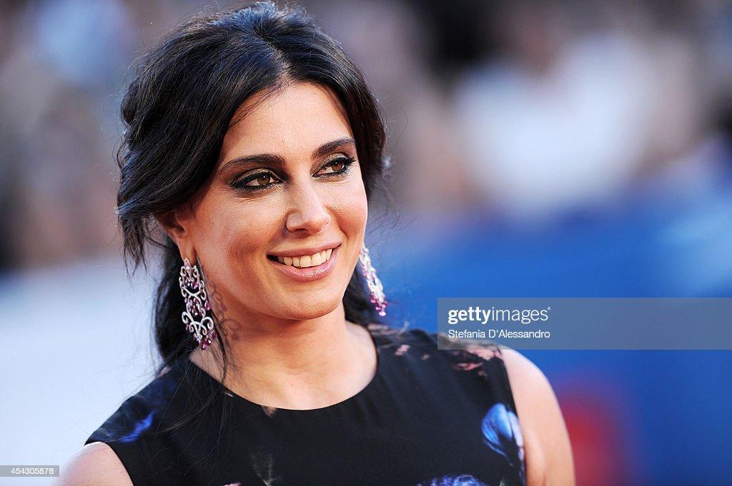 Nadine Labaki attends the 'La Rancon De La Gloire' premiere during the 71st Venice Film Festival on August 28, 2014 in Venice, Italy.