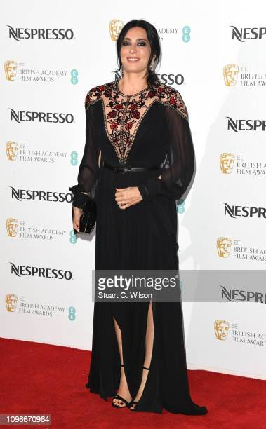 Nadine Labaki attends the Nespresso British Academy Film Awards nominees party at Kensington Palace on February 9 2019 in London England