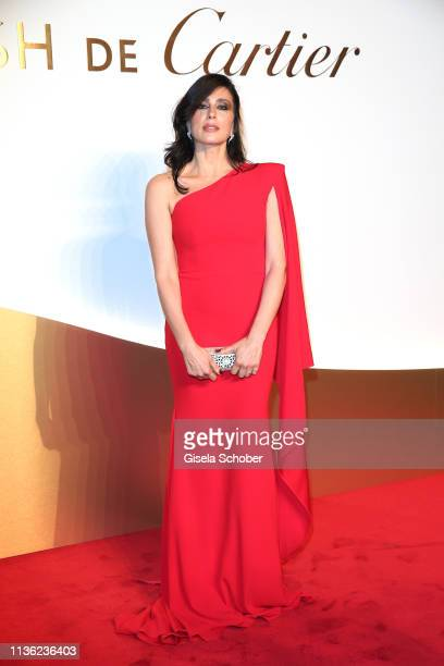 Nadine Labaki during the Clash de Cartier event at la Conciergerie on April 10 2019 in Paris France
