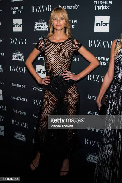 Nadine Leopold attends 2017 Harper's Bazaar Icons at The Plaza Hotel on September 8 2017 in New York City