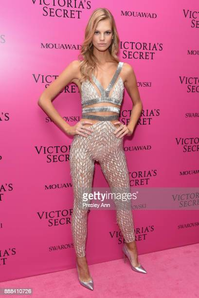 Nadine Leopold attends 2017 Victoria's Secret Fashion Show In Shanghai After Party at MercedesBenz Arena on November 20 2017 in Shanghai China