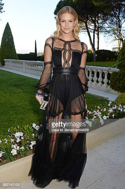 Nadine Leopold attends amfAR's 23rd Cinema Against AIDS Gala at Hotel du CapEdenRoc on May 19 2016 in Cap d'Antibes France