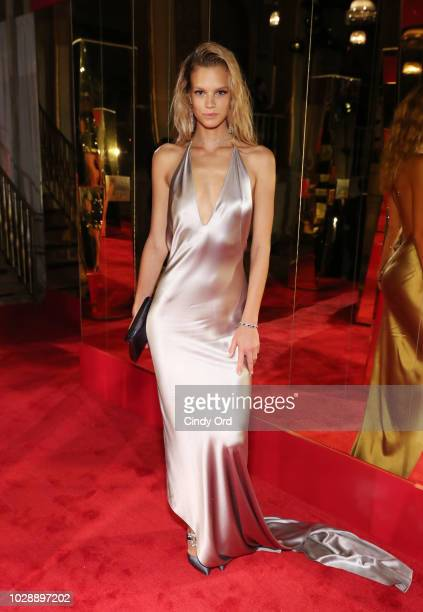 Nadine Leopold attends as Harper's BAZAAR Celebrates ICONS By Carine Roitfeld at the Plaza Hotel on September 7 2018 in New York City