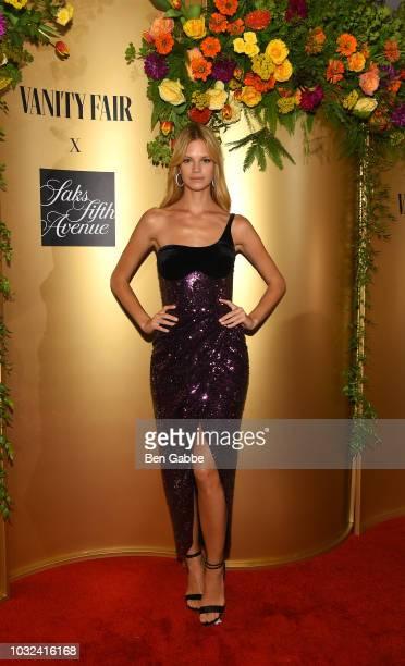 Nadine Leopold attends as Vanity Fair and Saks Fifth Avenue celebrate Vanity Fair's BestDressed 2018 at Manhatta on September 12 2018 in New York City
