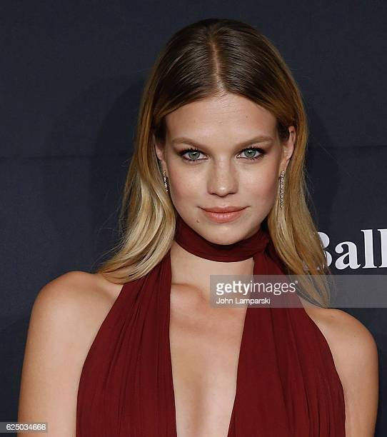 Nadine Leopold attends the 2016 Angel Ball at Cipriani Wall Street on November 21 2016 in New York City