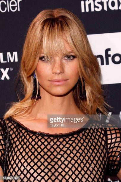 Nadine Leopold attends the 2017 Harper ICONS party at The Plaza Hotel on September 8 2017 in New York City