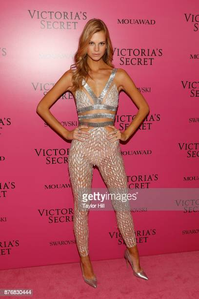 Nadine Leopold attends the 2017 Victoria's Secret Fashion Show After Party on November 20 2017 in Shanghai China