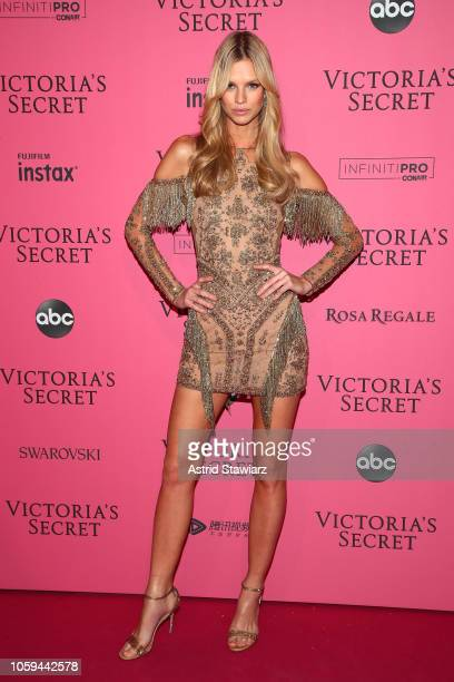 Nadine Leopold attends the 2018 Victoria's Secret Fashion Show After Party on November 8 2018 in New York City