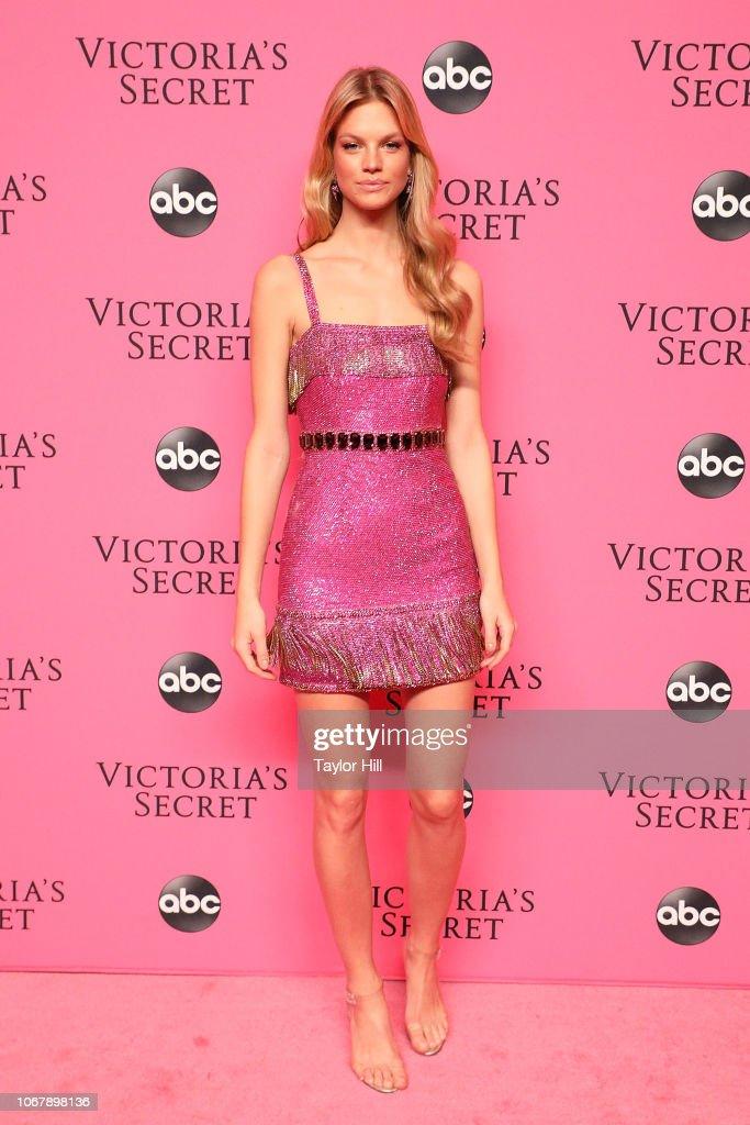 2018 Victoria's Secret Fashion Show Viewing Party : News Photo