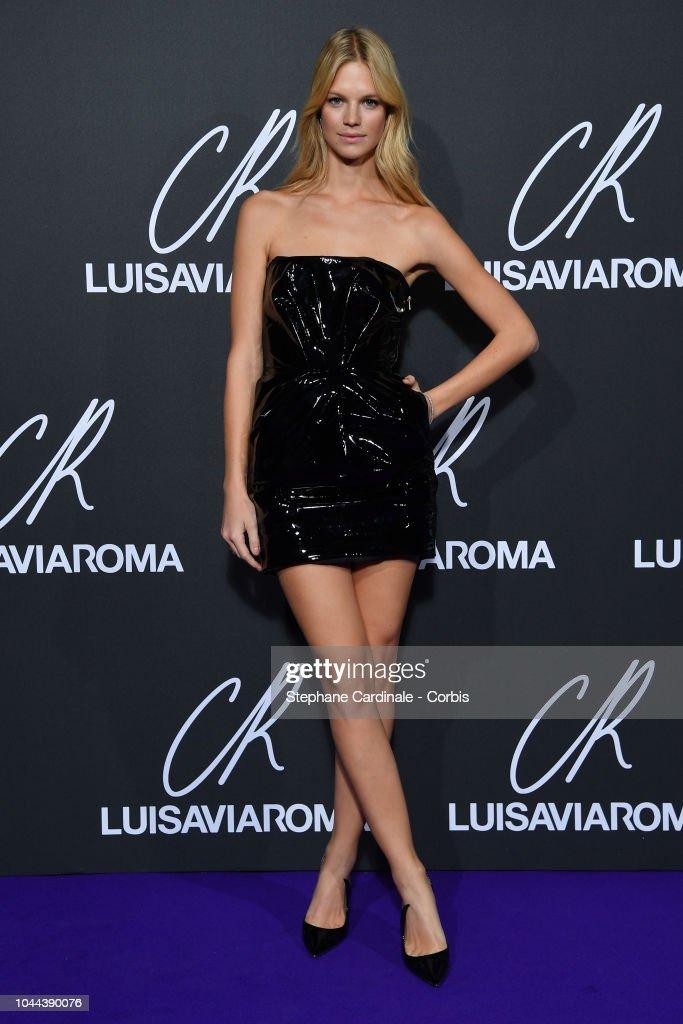 CR Fashion Book x LuisaViaRoma : Photocall - Paris Fashion Week Womenswear Spring/Summer 2019 : Nachrichtenfoto