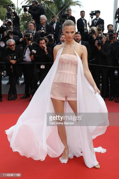 Nadine Leopold attends the screening of Les Miserables during the 72nd annual Cannes Film Festival on May 15 2019 in Cannes France