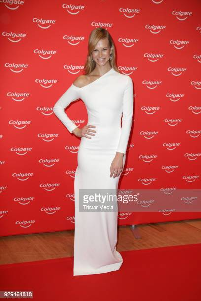 Nadine Leopold during the Colgate White Night at Apartimentum on March 8 2018 in Hamburg Germany
