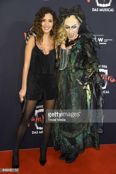 Nadine Menz attends the 'Tanz der Vampire' Musical Premiere at Stage Theater on September 17 2017 in Hamburg Germany