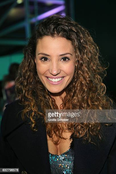 Nadine Menz, GZSZ, during the 'A New York Minute' party hosted by Tiffany & Co at BMW World on January 26, 2017 in Munich, Germany.