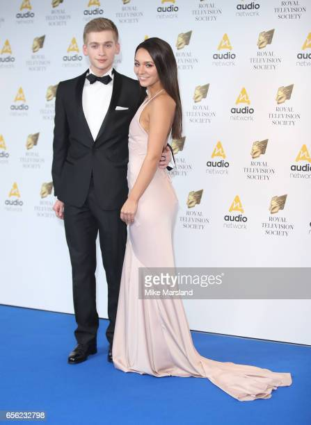 Nadine Mulkerrin and Richard Linnell attend the Royal Television Society Programme Awards on March 21 2017 in London United Kingdom