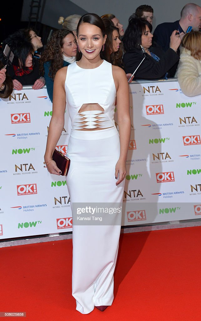 Nadine Mulkerrin attends the 21st National Television Awards at The O2 Arena on January 20, 2016 in London, England.