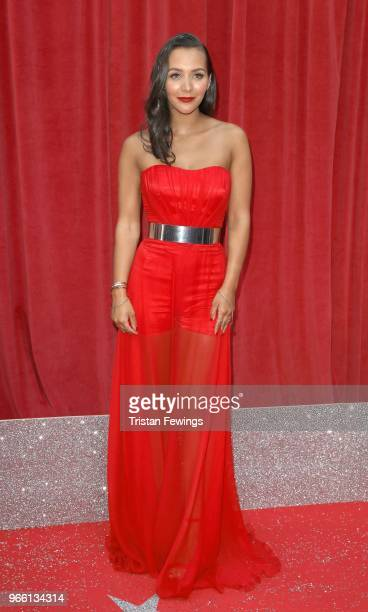 Nadine Mulkerrin attends the British Soap Awards 2018 at Hackney Empire on June 2 2018 in London England
