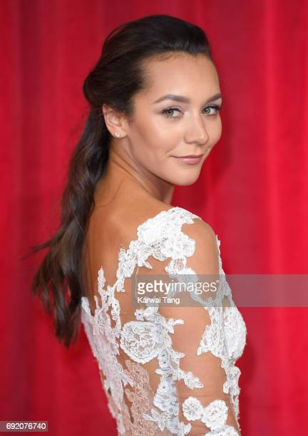 Nadine Mulkerrin attends the British Soap Awards at The Lowry Theatre on June 3 2017 in Manchester England