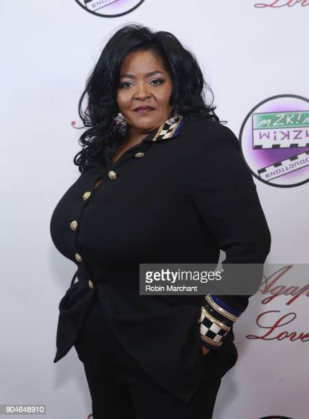 Nadine Neal Young attends Agape Love Red Carpet on January 13 2018 in Milwaukee Wisconsin